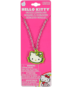"Hello Kitty ""3D Face"" Necklace - CookiesKids.com"