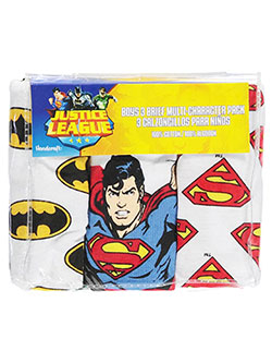 "Justice League Little Boys' ""Hero Suits"" 3-Pack Briefs (Sizes 4 – 7) - CookiesKids.com"