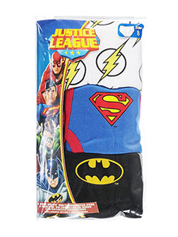 "Justice League Big Boys' ""Hero Suits"" 3-Pack Briefs (Sizes 8 – 20) - CookiesKids.com"