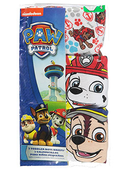 "Paw Patrol Little Boys' ""Anchor Medley"" 3-Pack Briefs (Sizes 4 – 7) - CookiesKids.com"