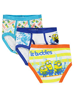 "Minions Big Boys' ""Sketch"" 3-Pack Briefs (Sizes 8 – 20) - CookiesKids.com"