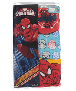 "Spider-Man Little Boys' Toddler ""Web Head"" 3-Pack Briefs (Sizes 2T – 4T) - CookiesKids.com"
