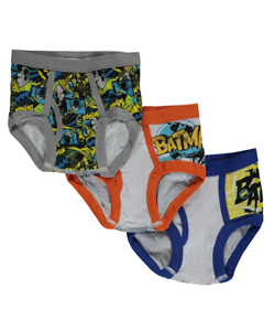 "Batman Little Boys' Toddler ""Gotham Protector"" 3-Pack Briefs (Sizes 2T – 4T) - CookiesKids.com"