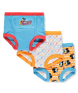 Disney Mickey Mouse Boys' 3-Pack Training Pants & Chart Set - CookiesKids.com