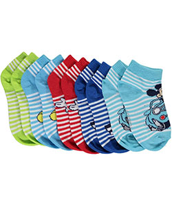 "Mickey Mouse Clubhouse Boys' ""Playtime"" 5-Pack Ankle Socks (Sizes 5 – 6.5) - CookiesKids.com"