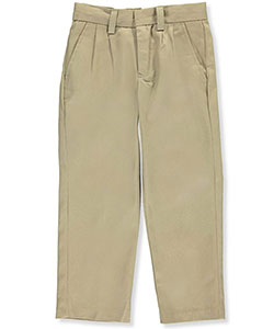 Preferred School Uniforms Little Boys' Pleated Pants (Sizes 4 - 7) - CookiesKids.com