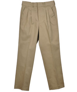 Preferred School Uniforms Big Boys' Pleated Pants (Sizes 8 - 20) - CookiesKids.com