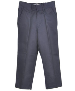 Preferred School Uniforms Little Boys' Double Knee Flat Front Pants (Sizes 4 - 7) - CookiesKids.com