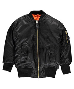 "Swiss Cross Baby Boys' ""Classic Mode"" Reversible Flight Jacket - CookiesKids.com"