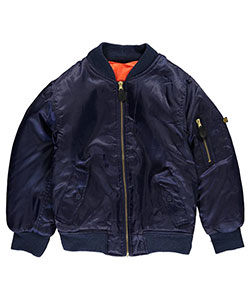 Swiss Cross Big Boys' Reversible Flight Jacket (Sizes 8 – 20) - CookiesKids.com