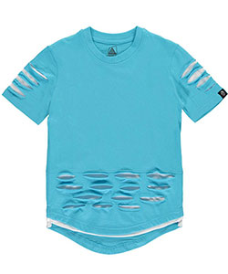 "Roadblock Big Boys' ""Hidden Mesh"" T-Shirt (Sizes 8 – 20) - CookiesKids.com"
