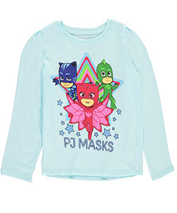 "PJ Masks Little Girls' Toddler ""Starry"" L/S Shirt (Sizes 2T – 4T) - CookiesKids.com"