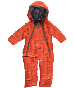 "Rugged Bear Baby Boys' ""Square Quilt"" Snowsuit - CookiesKids.com"