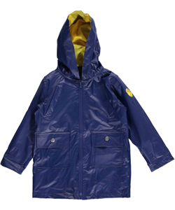 "Wippette Little Boys' Toddler ""Badge Improved"" Rain Jacket (Sizes 2T – 4T) - CookiesKids.com"