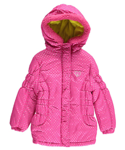 "Pink Platinum Little Girls' Toddler ""Hailstorm Shine"" Jacket (Sizes 2T – 4T) - CookiesKids.com"