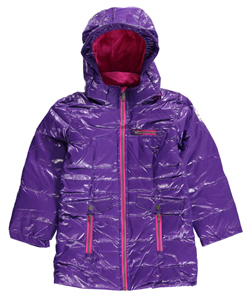 "V Italia Big Girls' ""Lecce"" Insulated Parka (Sizes 7 – 16) - CookiesKids.com"