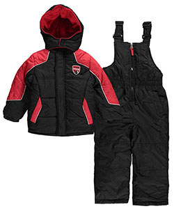 "iXtreme Little Boys' Toddler ""Expedition 75"" 2-Piece Snowsuit (Sizes 2T – 4T) - CookiesKids.com"