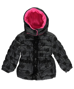 "Pink Platinum Baby Girls' ""Heart Tones"" Insulated Jacket - CookiesKids.com"