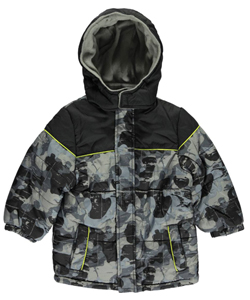 "iXtreme Baby Boys' ""Camo Splatter"" Insulated Jacket - CookiesKids.com"