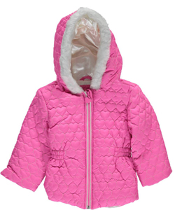 "Wippette Baby Girls' ""Winter Shine"" Insulated Pram Suit - CookiesKids.com"