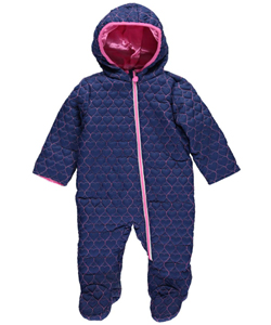 "Wippette Baby Girls' ""Snow Crush"" Pram Suit - CookiesKids.com"