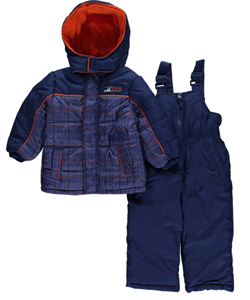 "iXtreme Baby Boys' ""Checked Out"" 2-Piece Snowsuit - CookiesKids.com"
