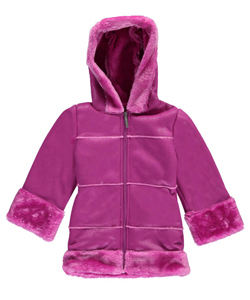 "Limited Too Little Girls' ""Shearling Dream"" Insulated Jacket (Sizes 4 – 6X) - CookiesKids.com"