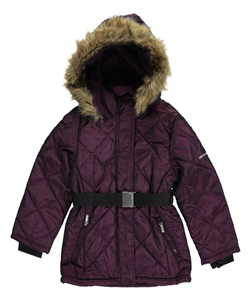 "Limited Too Big Girls' ""Diamond Shine"" Insulated Jacket (Sizes 7 – 16) - CookiesKids.com"
