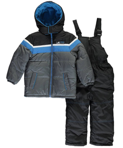 "iXtreme Little Boys' Toddler ""Ski Den"" 2-Piece Snowsuit (Sizes 2T – 4T) - CookiesKids.com"