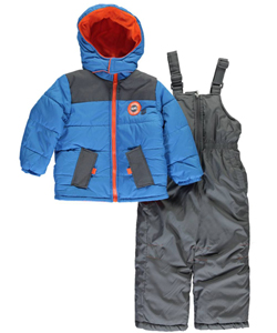 "iXtreme Little Boys' ""Hayden"" 2-Piece Snowsuit (Sizes 4 – 7) - CookiesKids.com"