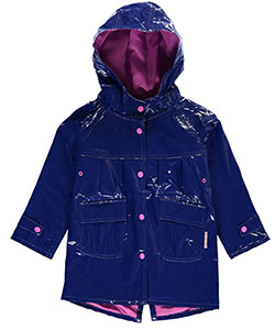 "Wippette Little Girls' ""Classic Snap"" Rain Jacket (Sizes 4 – 6X) - CookiesKids.com"