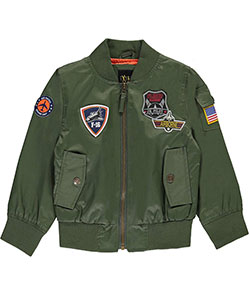 "iXtreme Little Boys' Toddler ""Rogue Unit"" Flight Jacket (Sizes 2T – 4T) - CookiesKids.com"