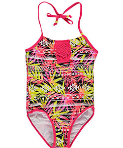 "Limited Too Big Girls' ""Wildwood"" 1-Piece Swimsuit (Sizes 7 – 16) - CookiesKids.com"