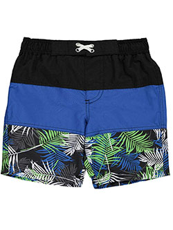 "iXtreme Little Boys' Toddler ""Hibiscus Trail"" Boardshorts (Sizes 2T – 4T) - CookiesKids.com"