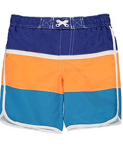 "iXtreme Little Boys' ""Retro Surf"" Boardshorts (Sizes 4 – 7) - CookiesKids.com"