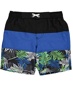 "iXtreme Little Boys' ""Hibiscus Trail"" Boardshorts (Sizes 4 – 7) - CookiesKids.com"