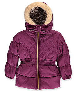 Pink Platinum Little Girls' Toddler Insulated Jacket (Sizes 2T – 4T) - CookiesKids.com