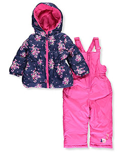 Pink Platinum Baby Girls' 2-Piece Snowsuit - CookiesKids.com