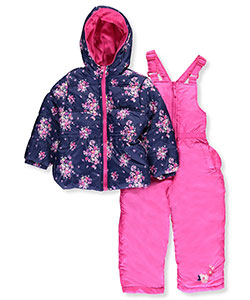 Pink Platinum Little Girls' Toddler 2-Piece Snowsuit (Sizes 2T – 4T) - CookiesKids.com