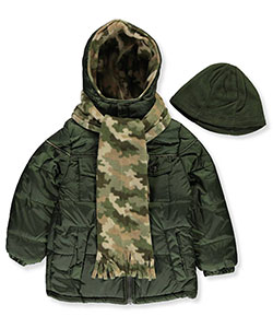 iXtreme Little Boys' Toddler Insulated Jacket with Accessories (Sizes 2T – 4T) - CookiesKids.com
