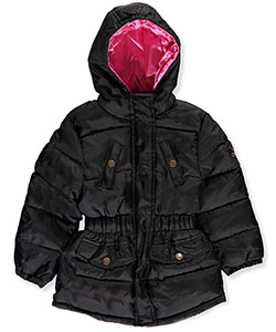 Pink Platinum Little Girls' Toddler Insulated Winter Parka (Sizes 2T – 4T) - CookiesKids.com