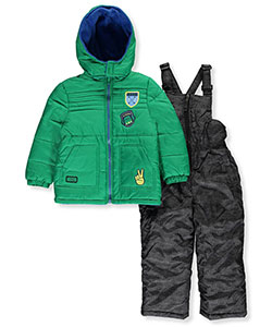 iXtreme Little Boys' 2-Piece Insulated Snowsuit (Sizes 4 – 7) - CookiesKids.com