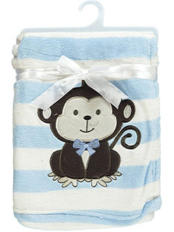 "Snugly Baby ""Little Monkey"" Baby Blanket - CookiesKids.com"