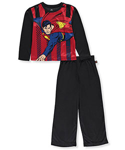 Superman Big Boys' 2-Piece Pajamas (Sizes 8 – 20) - CookiesKids.com