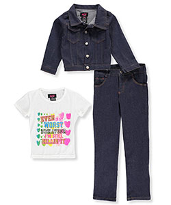 Wild Punch Big Girls' 3-Piece Outfit (Sizes 7 – 16) - CookiesKids.com
