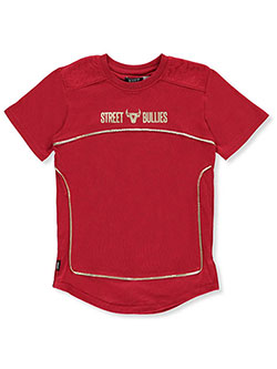 "Huge Exchange Big Boys' ""Gold Line"" T-Shirt (Sizes 8 – 20) - CookiesKids.com"