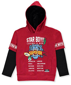Huge Exchange Big Boys' Slider Hoodie (Sizes 8 – 20) - CookiesKids.com