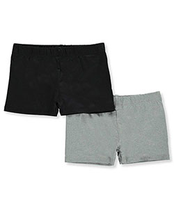 Only Girls Big Girls' 2-Pack Playground Shorts (Sizes 7 – 16) - CookiesKids.com