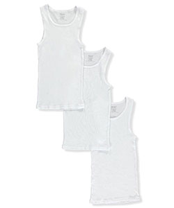 BUM Equipment Little Boys' Toddler 3-Pack Ribbed Tanks (Sizes 2T – 4T) - CookiesKids.com