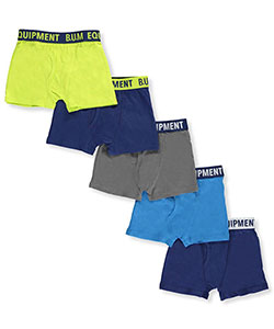 BUM Equipment Big Boys' 5-Pack Boxer Briefs (Sizes 8 – 20) - CookiesKids.com